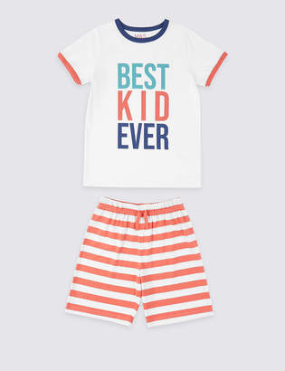Marks and Spencer Best Ever Kid Short Pyjamas (1-16 Years)