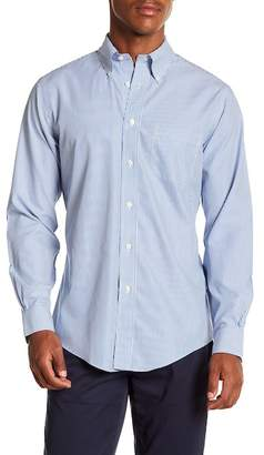Brooks Brothers Mini Stripe Long Sleeve Sport Fit Shirt