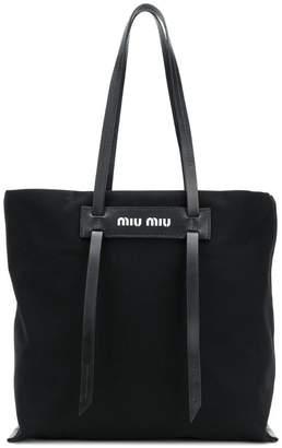Miu Miu (ミュウミュウ) - Miu Miu ロゴ トートバッグ