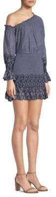 Alexis Royce Off-The-Shoulder Smocked Dress