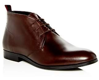 HUGO BOSS Men's Leather Chukka Boots