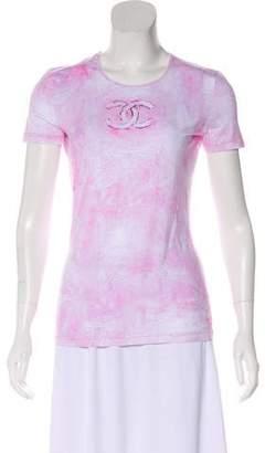 Chanel Tie-Dye CC Top