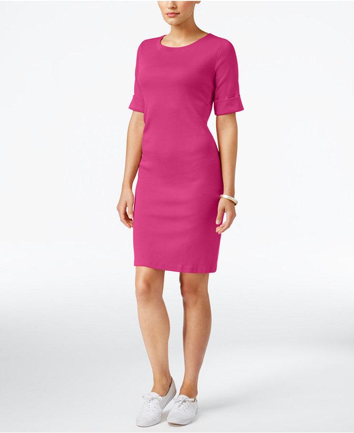 Karen Scott T-Shirt Dress, Only at Macy's 9