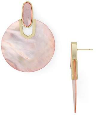 Kendra Scott Stone Disc Drop Earrings