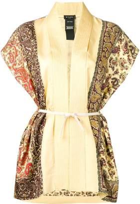 Etro paisley embroidered waistcoat