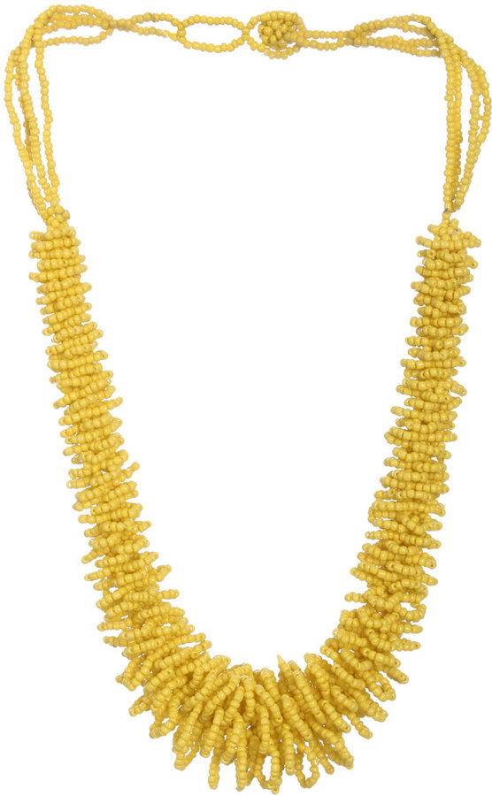 Arden B Seed Bead Wrap Necklace