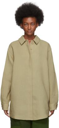 Jacquemus Beige La Chemise Loya Shirt