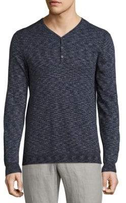 John Varvatos Space Dyed Henley