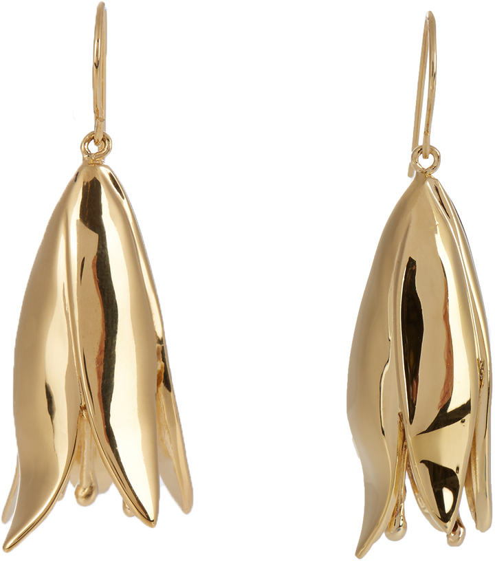 Aurelie Bidermann AURÉLIE BIDERMANN Demetria gold-plated earrings