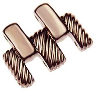 Judith Ripka Chocolate Stainless Steel Watch Extender Link