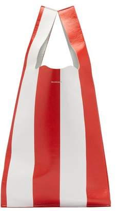 Balenciaga Supermarket Arena Tote - Womens - Red White
