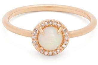 Irene Neuwirth Opal & Rose Gold Ring - Womens - Rose Gold