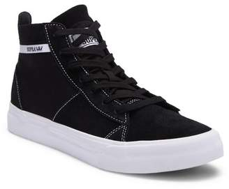 Supra Stacks Mid Suede Canvas Hi-Top Sneaker