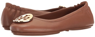Tory Burch - Minnie Travel Ballet Women's Shoes $225 thestylecure.com