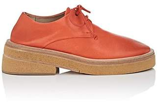Marsèll Women's Leather Oxfords - Red