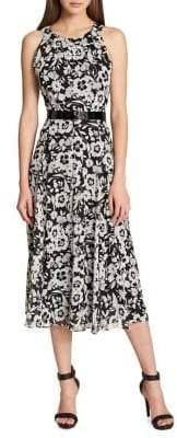 Tommy Hilfiger Halterneck Chiffon Midi Dress