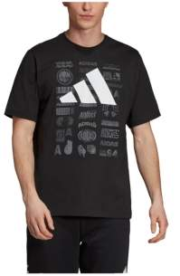 adidas Men's Tp Loose Fit Short Sleeved Graphic T-Shirt