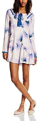 Somedays Lovin Women's The Wild One Peplum Aztec Long Sleeve Dress,(Manufacturer Size:Small)