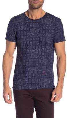 Scotch & Soda Printed Crew Neck Tee