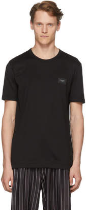 Dolce & Gabbana Black Logo Plaque T-Shirt