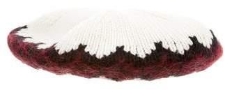 Gucci Pattern Knit Baret