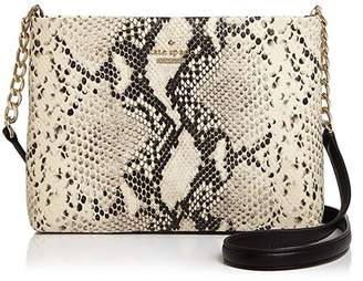 Kate Spade Emerson Caterina Snake-Embossed Leather Crossbody