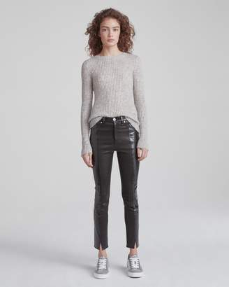 Evelyn leather pant