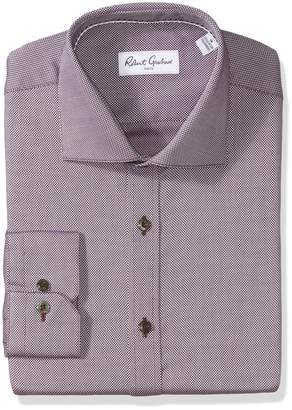 Robert Graham Men's Felix Regular Fit Textured Dress Shirt