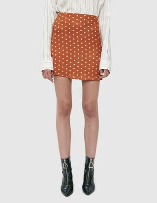 Farrow Ollia Polka Dot Mini Skirt