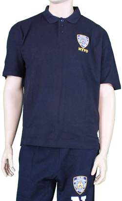 Factory NYC NYPD Official Embroidered Logo Polo Shirt