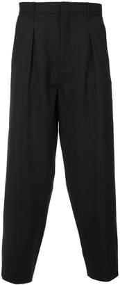 Second/Layer Pleated Billowed trousers
