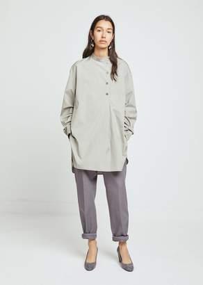 Lemaire Asymmetrical Poplin Shirt