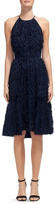Whistles Irina Faux-Feather Dress $660 thestylecure.com