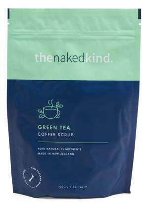 Made In New Zealand 7.05oz Green Tea Coffee Scrub