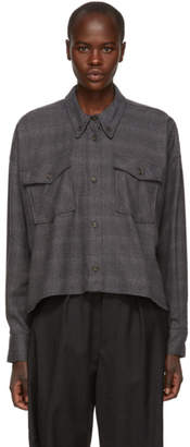 Etoile Isabel Marant Grey Delora Flannel Shirt
