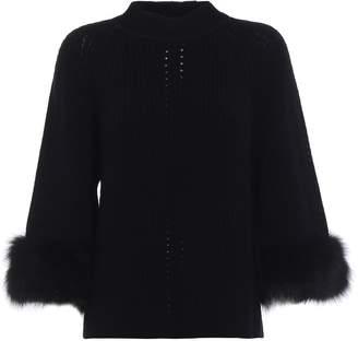 Fendi Fur Sweater
