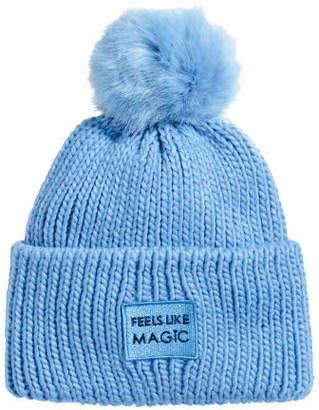 H&M Ribbed hat - Blue