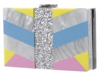 Milly Geometric Box Clutch