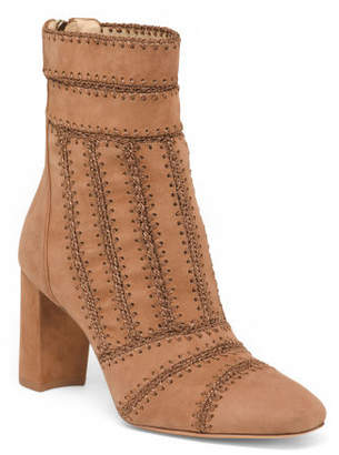 Made In Brazil Suede Ankle Boots