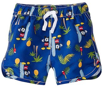 Disney Mickey Mouse Baby Swimmy Shorts With UPF 50+ $32 thestylecure.com