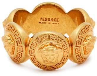 Versace Medusa-crest ring