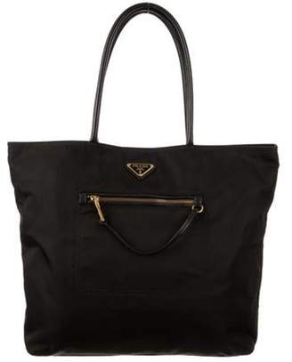 Prada Nylon Tote Bag Black Nylon Tote Bag