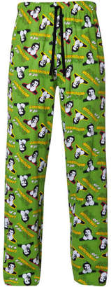 Elf Men's Christmas Lounge Pants - Green