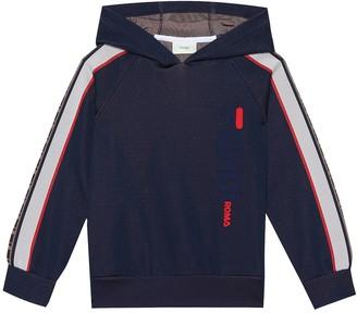 Fendi Kids MANIA cotton-blend hoodie