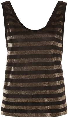 RtA Colton striped vest top
