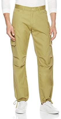 Co Quality Durables Men's Parachute Coated Lightweight Cargo Pants x32