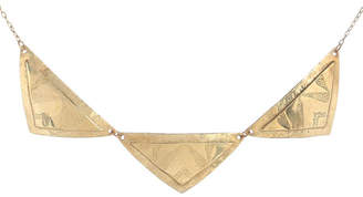 Annalaya Jewelry Design Triple Hammer Necklace