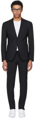 DSQUARED2 Black Wool Paris Fit Suit