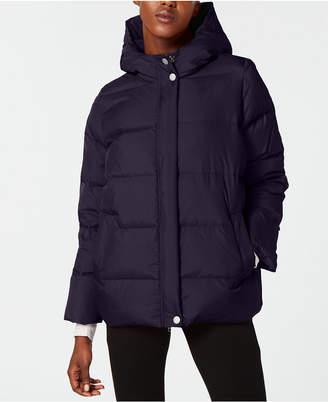 Eileen Fisher Hooded Down Jacket, Regular & Petite