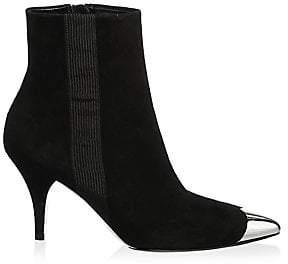 Calvin Klein Women's Rocio Point Toe Suede Booties